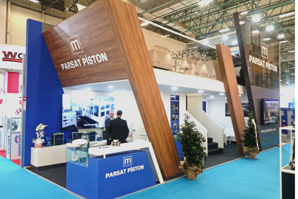 Parsat Piston attended to Automechanika İstanbul 2015 ​